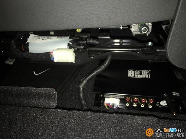 欢乐一刻 哈尔滨晓辉现代IX35汽车音响改装8音度
