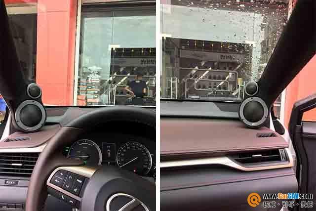 台州至上音乐雷克萨斯RX400H汽车音响改装丹拿 就