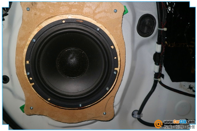体验欢乐 西安车神丰田汉兰达汽车音响改装萨迪
