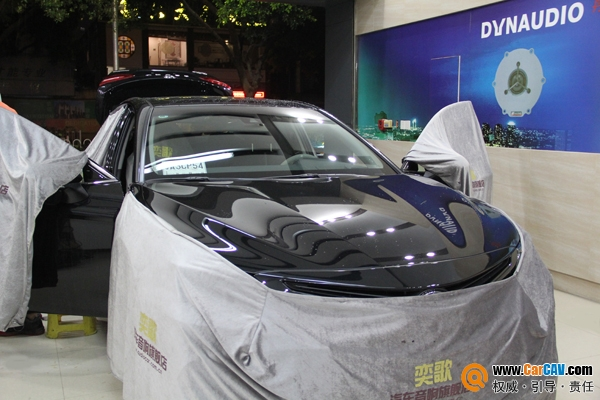 广州奕歌第八代凯美瑞汽车音响改装丹拿272  国内首例