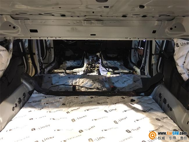 汕头悦心宝马5系全车隔音降噪中道隔音材料处理