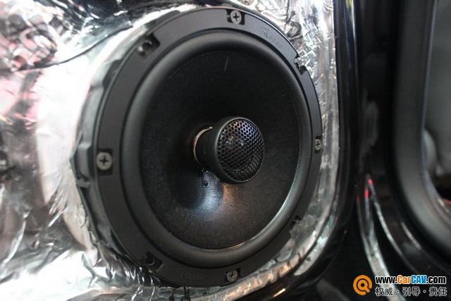 欢乐法则 合肥车改坊大众帕萨特汽车音响改装伊顿
