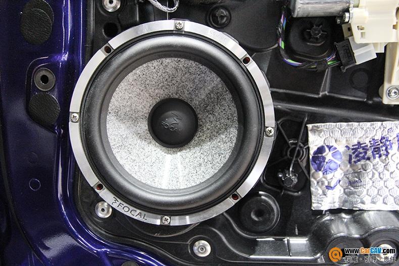 广州极速英菲尼迪QX30汽车音响改装劲浪 提升音质