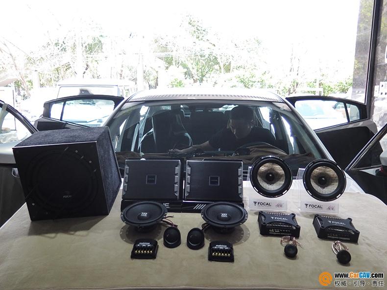广州极速汽车阿特兹汽车音响改装阿尔派 无与伦比