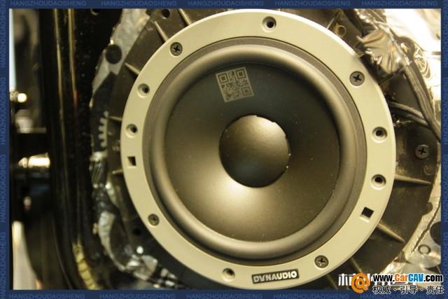 和音乐谈心 杭州道声奔驰R320汽车音响改装丹拿
