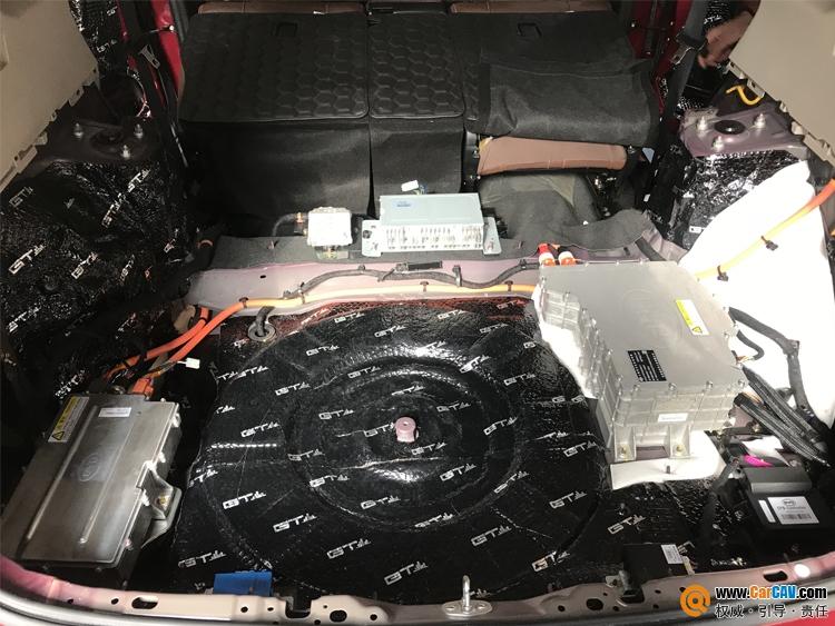 西安车乐汇比亚迪唐汽车音响改装海螺 清晰纯净