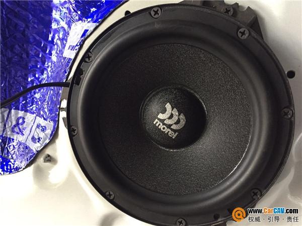 长治福D 现代瑞纳汽车音响改装摩雷提高音响的品质