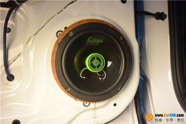 重庆三正长安CS75汽车音响改装歌诗尼 狂野之下的