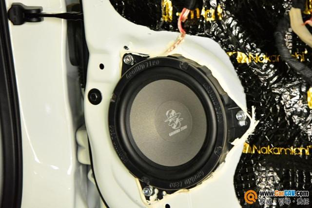 唐山博纳日产骐达汽车音响改装零点 享受美妙旋律