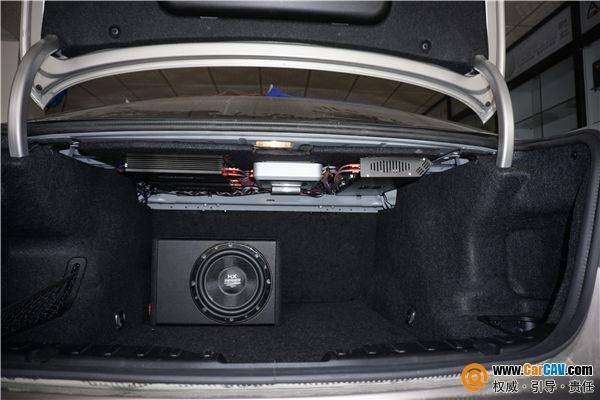 珠海音匠宝马525汽车音响改装乐斯登 非同凡响的味道