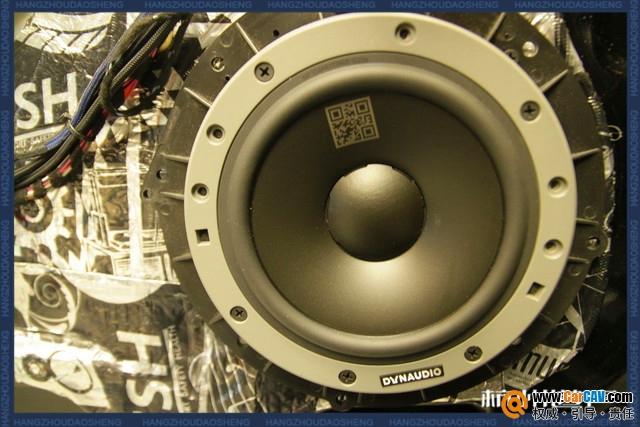 杭州道声奔驰R320汽车音响改装丹拿 梦幻旋律