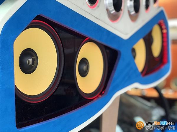 新疆富迪宝骏630汽车音响改装黄金声学 尽显发烧本质