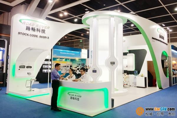 直击2018年春季香港电子展 路畅科技大力开拓全球前装市场