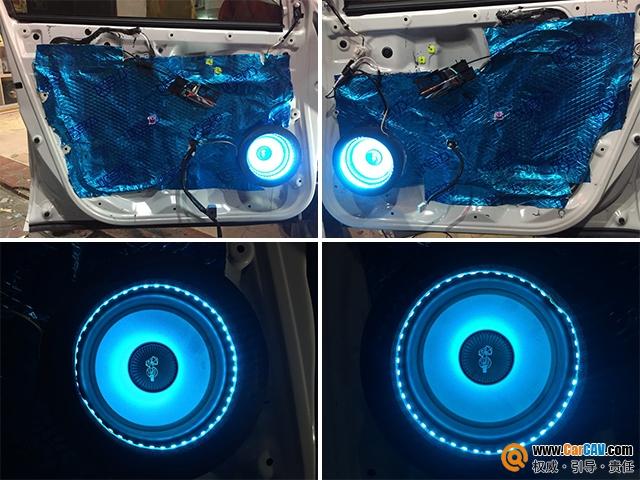 云浮云星本田XR-V汽车音响改装洛克力量 清晰细腻