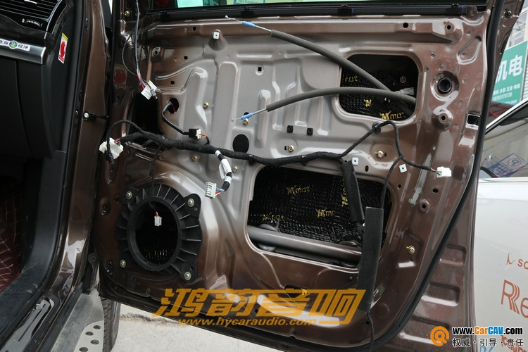 济南鸿韵比亚迪S7汽车音响改装魔乐歌 细腻柔顺