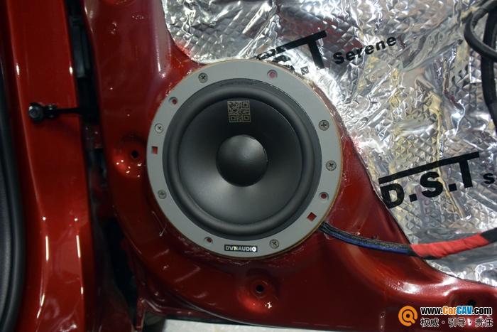 重庆三正起亚K2汽车音响改装丹拿 非常真实