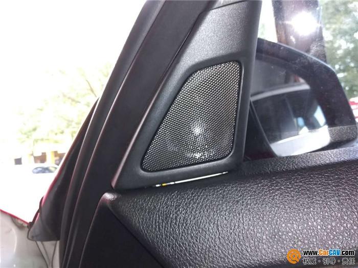 温州左声道宝马5系汽车音响改装野兽 有效提升音质