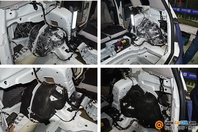 苏州广东仔奔驰GLK300汽车隔音改装StP 隔音降噪