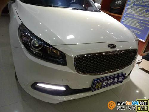 深圳聆听圣驾起亚K4汽车音响改装威玛仕 狂欢世界