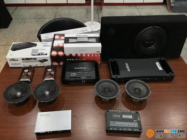 南京音乐人生奥迪S4汽车音响改装DLS 北欧之声