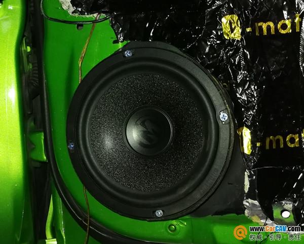 重庆乐车坊斯巴鲁STI汽车音响改装艾索特 DJ风格