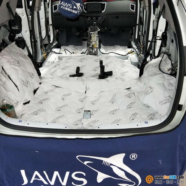 尽享安静 西安车凯胜现代iX25汽车隔音改装大白鲨