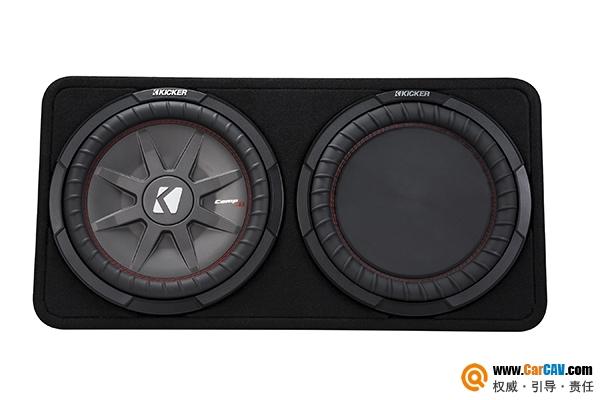 纯正美式低音 KICKER 12寸原装箱超低音43TCWRT122
