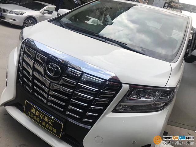 西安车乐汇丰田埃尔法汽车音响改装艾索特 自由律