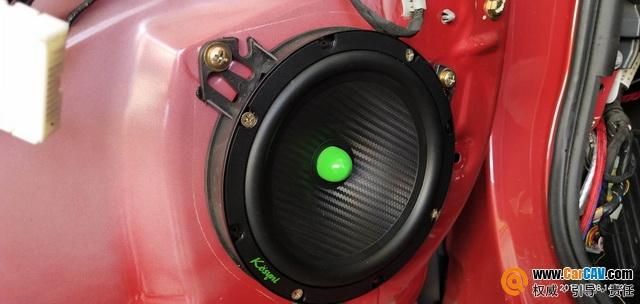 理想之选 梅州精益比亚迪G5汽车音响改装歌诗尼K1