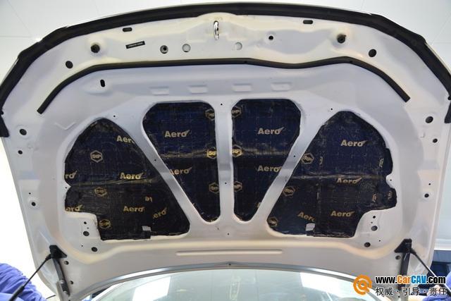 苏州广东仔马自达阿特兹汽车隔音改装STP 针对噪音问题