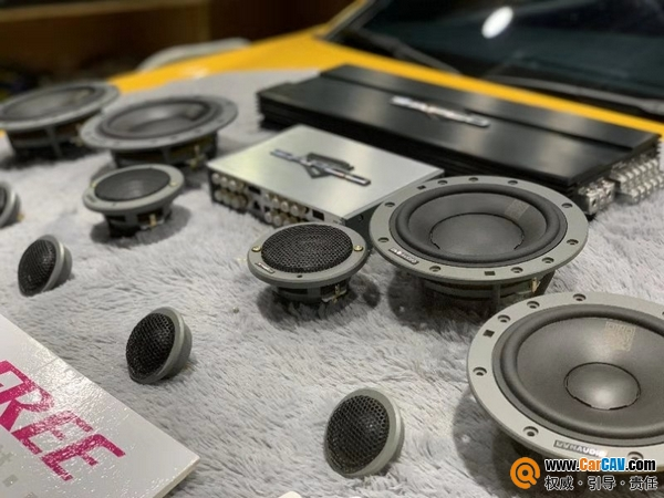 音响届的炫富摔 雷克萨斯GS汽车音响改装丹拿372