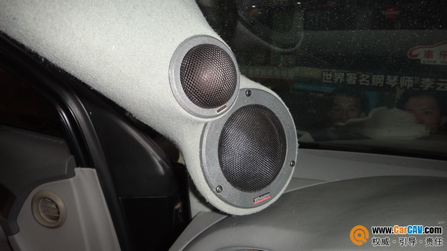 用音乐滋润心田 泉州车乐汇奥迪A6汽车音响改装丹