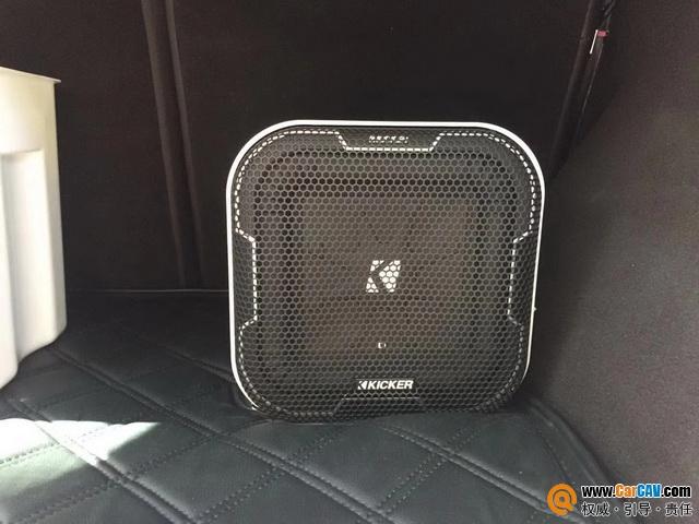 厦门音乐车坊奔驰GLE320汽车音响改装KICKER 减缓