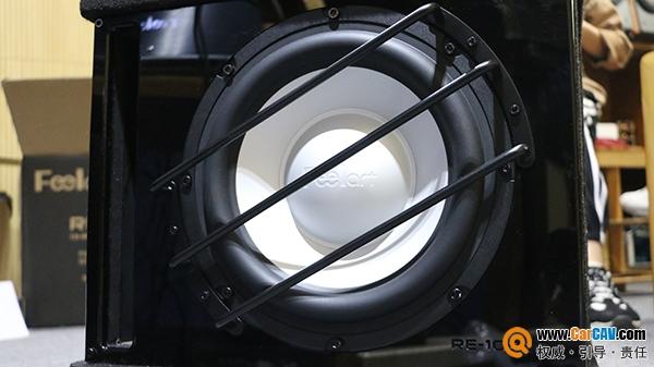 芬朗RE-1022D超低音实测 紧实的包裹感很舒服