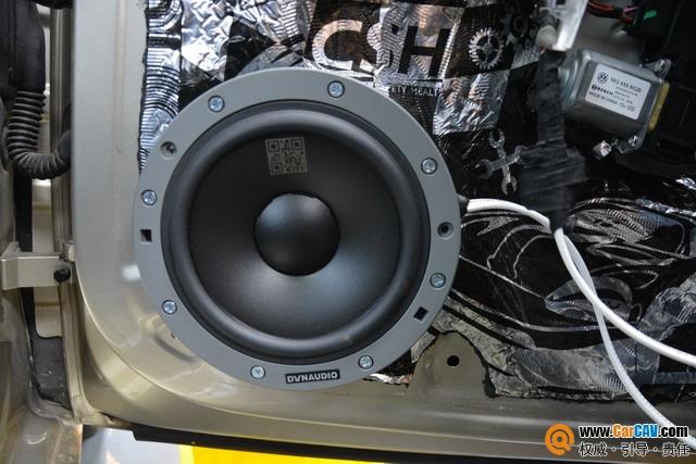 苏州广东仔大众宝来汽车音响改装丹拿232 音乐梦想