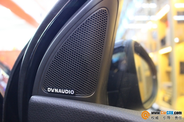 上海澳达龙大众高尔夫6汽车音响改装丹拿V17 专车专用