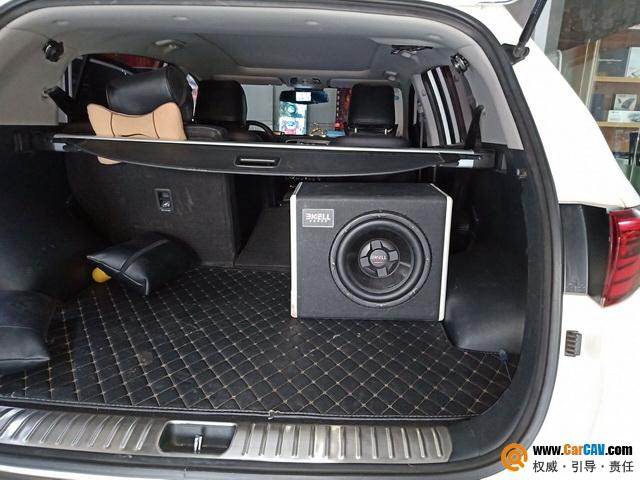 汕头车改坊飞龙起亚KX5汽车音响改装霸克C10.10 心动节拍