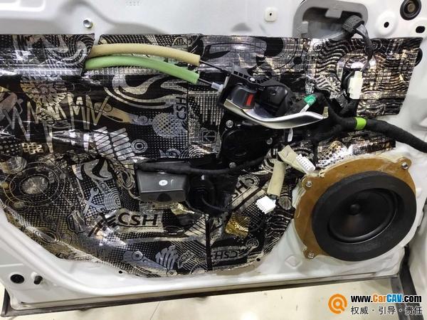 淮安道声马自达CX-4汽车音响改装丹拿236 超值套餐