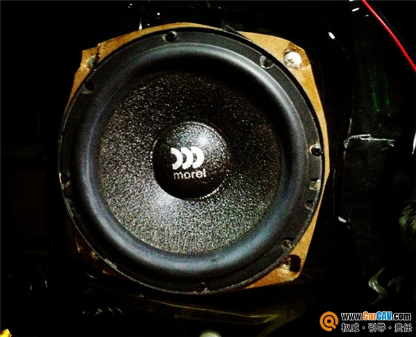 温州左声道三菱帕杰罗汽车音响改装摩雷 音质体验