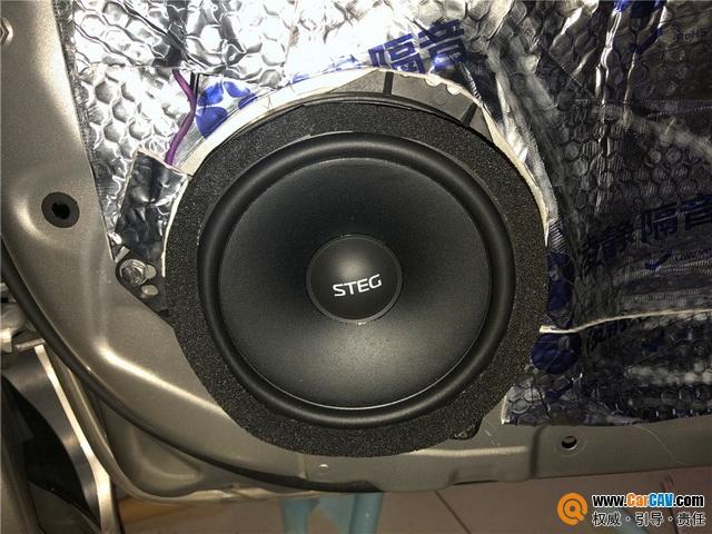 超赞改装 丰田卡罗拉音响升级史太格STEG MS650C套
