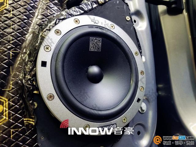 上海音豪凯迪拉克XT5汽车音响改装丹拿 静享音乐