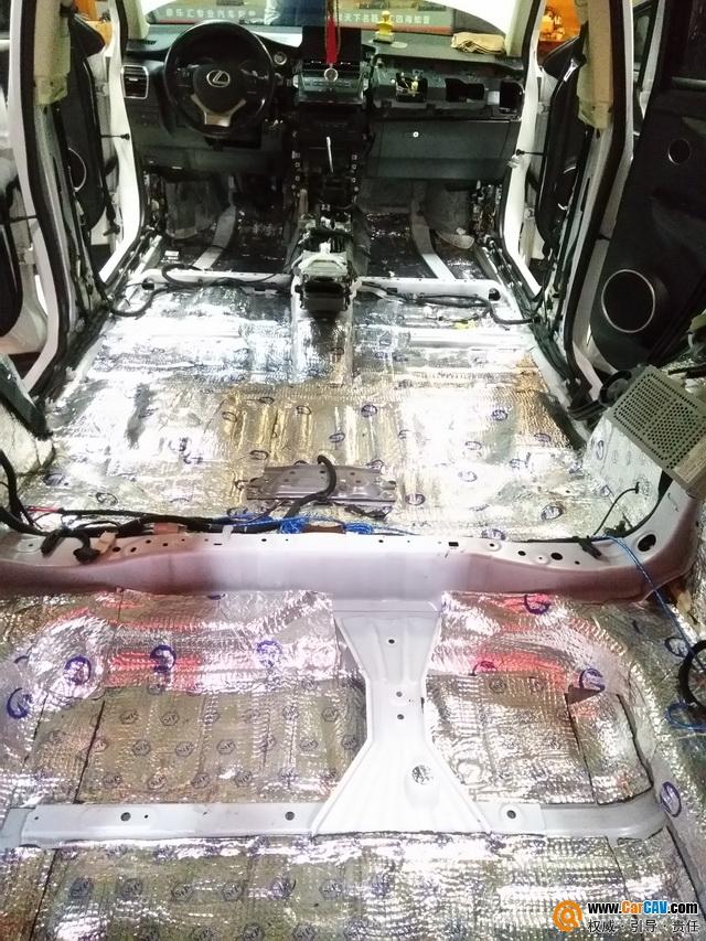 清空噪声 梅州车乐汇凌志NX200汽车隔音改装俄罗斯StP