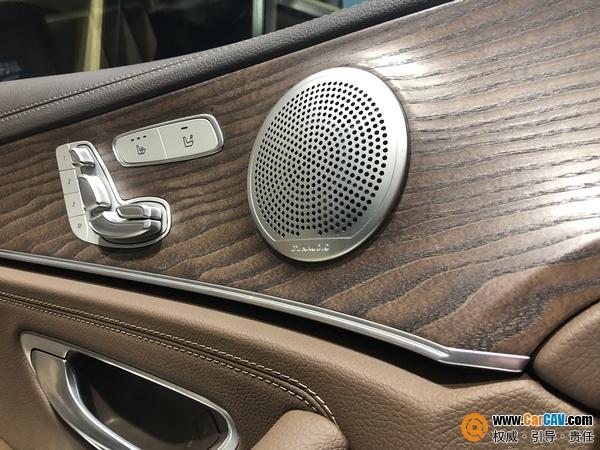 丹拿粉的福音 石家庄众合韵奔驰E300汽车音响改装丹拿M17
