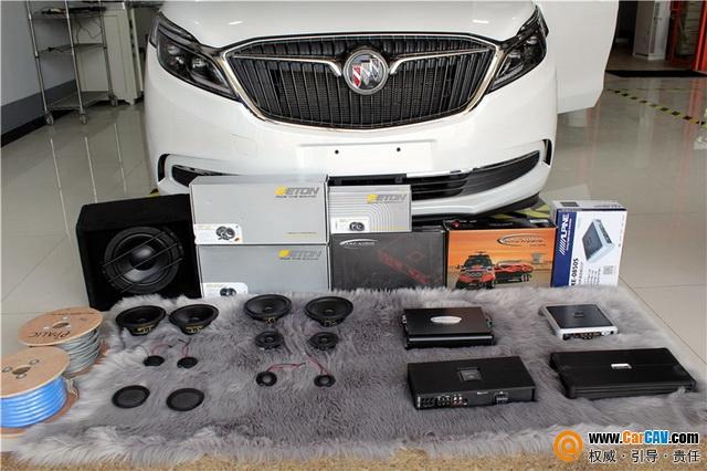 声音的艺术 武汉歌德别克GL8汽车音响改装德国伊顿
