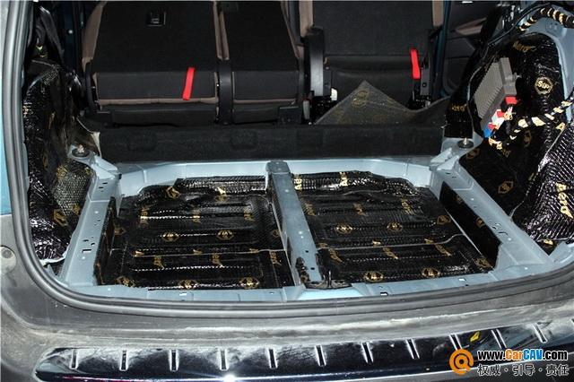 无噪时代 武汉歌德标致5008汽车隔音改装StP