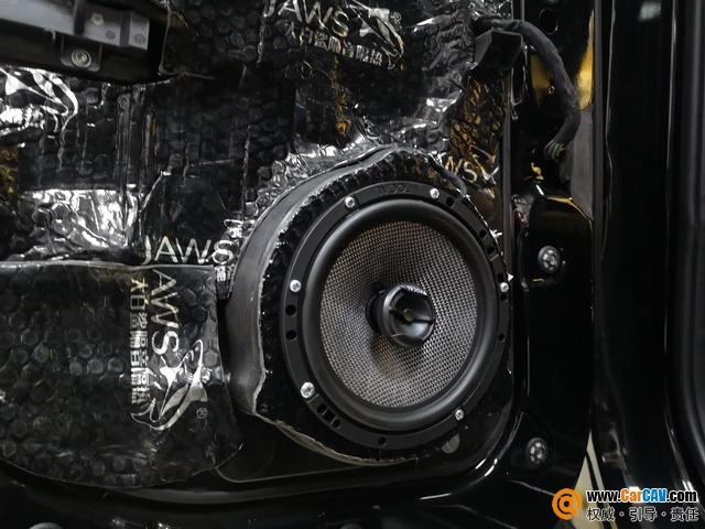 上海天目大切诺基汽车音响改装劲浪 给车主带来一场盛大的听