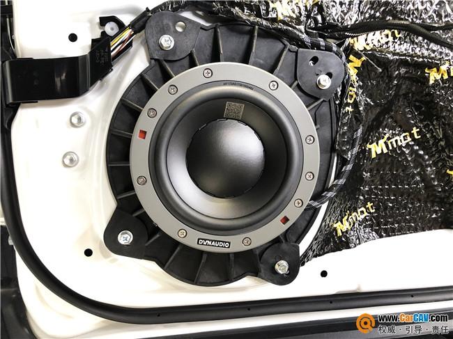 济南孚卡悦听雷克萨斯ES300汽车音响改装丹拿 人声气音