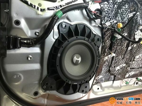 成都美声雷克萨斯GS300H汽车音响改装艾索特 玩转