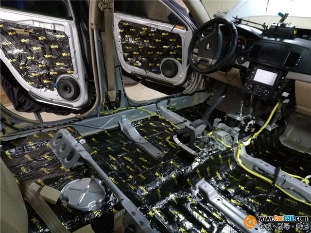廣州聲揚雪佛蘭景程汽車隔音改裝大麥靜音 旅途的歡聲笑語