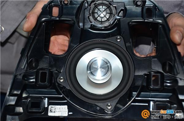 青岛丰慧宝马5系汽车音响改装蓝驱专车专用 搭配好